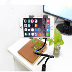 Image 3 - 360 degree  Flexible Arm Table Pad Holder socket Stand Long Lazy People Bed Desktop Tablet Mount For Huaiwei for Xiaomi
