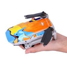 Красочные ПВХ наклейки для DJI Mavic Mini водонепроницаемая кожа для дрона корпус руки протектор для пульта дистанционного управления для Mavic Mini АКСЕССУАРЫ