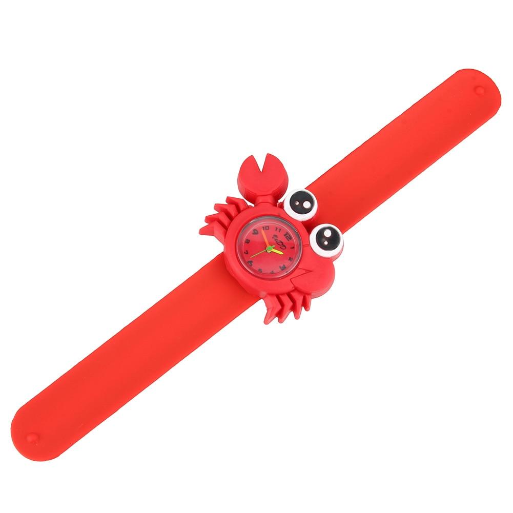 Новые милые часы-браслет с животными из мультфильмов для детей NIN668