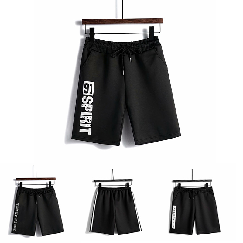 2020 New Summer Casual Shorts Mens Comfortable Breathable Cropped Shorts Street Attire Causal Drawstring Sportwear Male Shorts