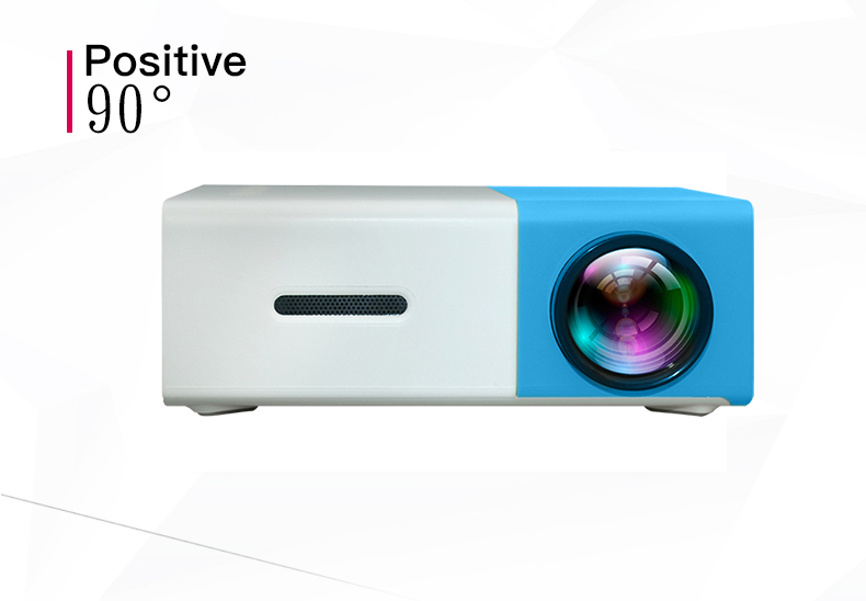 Salange YG300 Pico Mini Projector With 500 Lumen 3.5mm Audio 320x240 Pixels HDMI USB Support 13