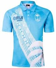 Fiji 7s 2019/2020 Регби Джерси Поло рубашка Размер: s 5xl fiji