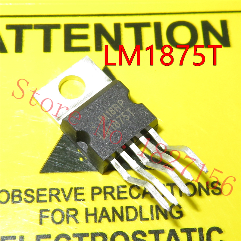 1pcs/lot <font><b>LM1875T</b></font> <font><b>LM1875</b></font> 20W Audio Power Amplifier new and original image