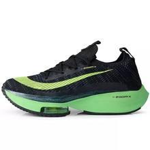 2021 zoomx alphaffly maratona respirável homem correndo sapatos tempo próximo flyease preto verde elétrico formadores esporte tênis