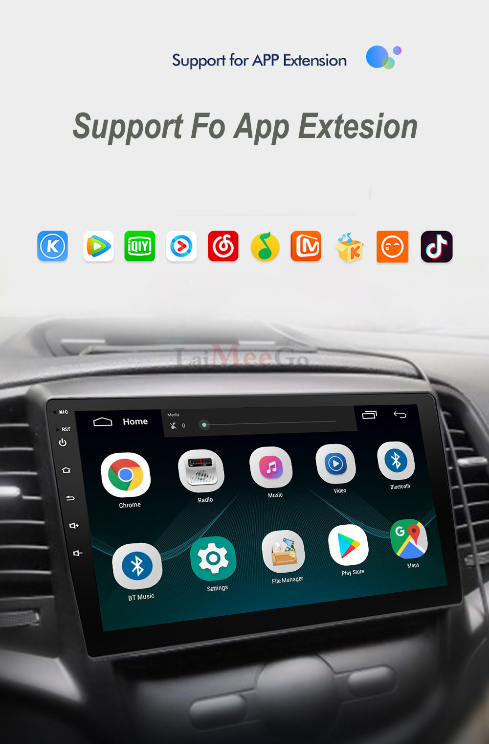 2din Car radio 9 10.1inch Android system Auto stereo 2.5D Capacitive Screen Bluetooth WIFI GPS Quad Core For Universal Car  (12)