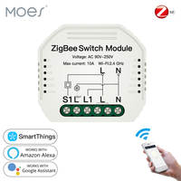 Tuya ZigBee 3.0 Smart Light Switch Module SmartThings Required APP Remote Control, Work