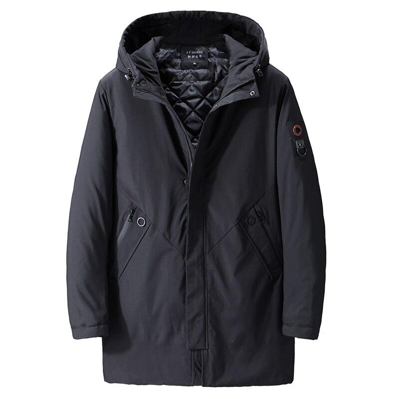 Мужская зимняя куртка размера плюс 10XL 9XL 8XL 7XL 6XL, черная Толстая парка, повседневные куртки, ветрозащитная теплая зимняя куртка, Мужская куртка с капюшоном|Парки| | АлиЭкспресс