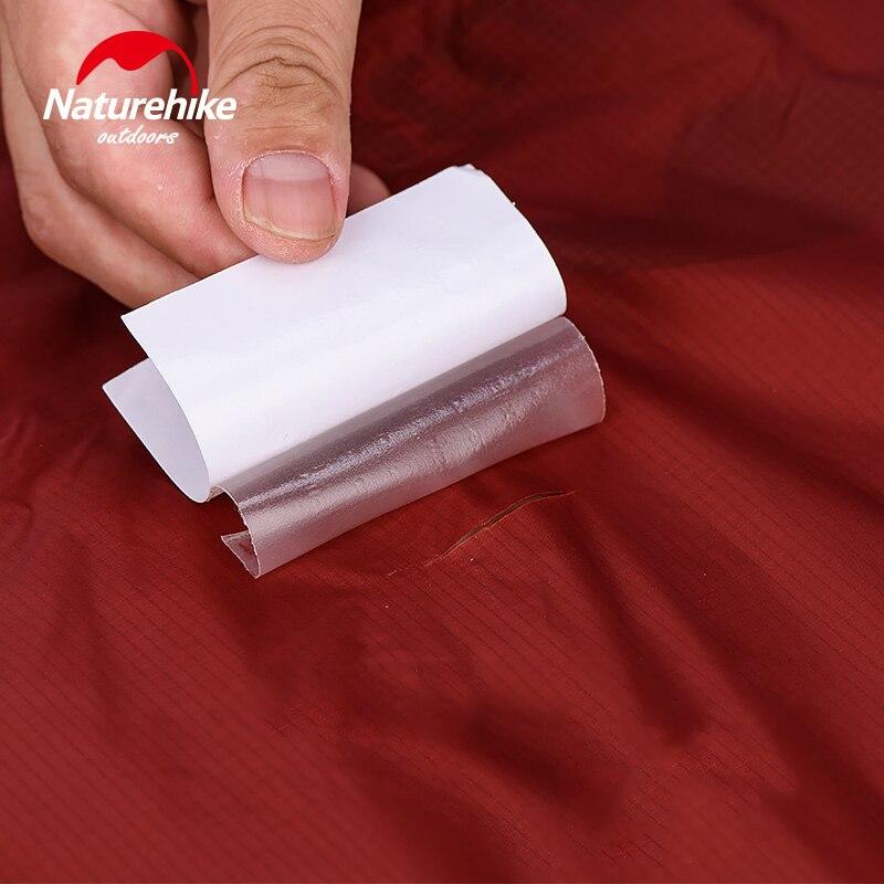 Naturehike 3PCS TPU Gear Repair Patch Waterproof Patch Sleeping Bag Tent Inflatable Cushion Pillow Waterproof Repair Kit