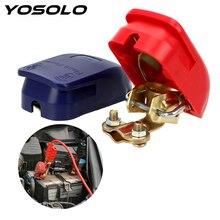Clamps YOSOLO Connector Car-Accessories Negative-Electrode Positive Quick-Release 1-Pair