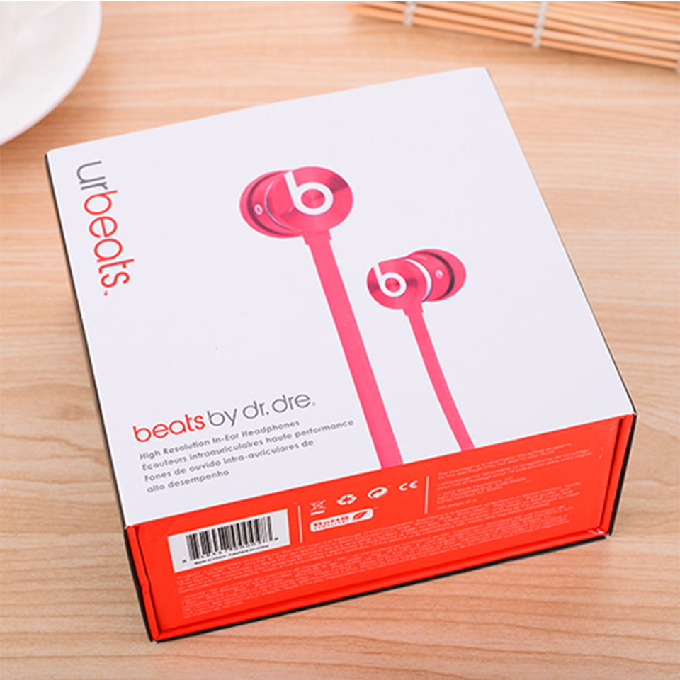Beats urBeats 2.0 3.5mm Wired Earphones Stereo Bass Sport Headset Line Control Earbuds Handsfree RemoteTalk with Mic for iPhone 6