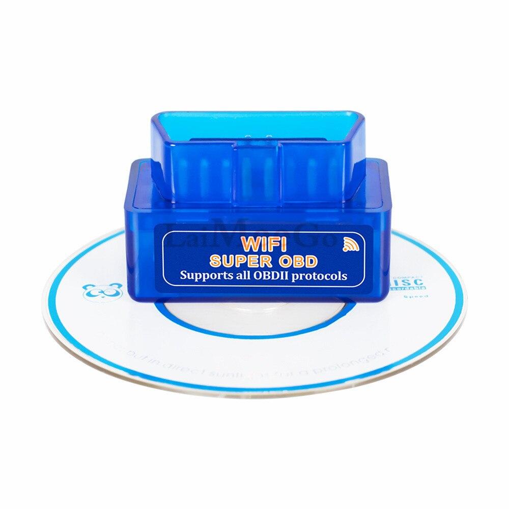 ELM327 WiFi Bluetooth V1.5 PIC18F25K80 Chip OBDII Diagnostic Tool IPhoneAndroidPC ELM 327 V 1.5 ICAR2 Auto Scanner Code Reader (10)