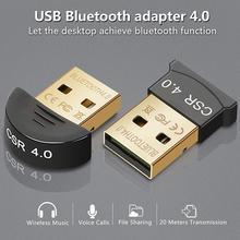 Беспроводной usb-адаптер Bluetooth 5,0 для компьютера Bluetooth Dongle, включающим в себя гарнитуру блютус и флеш-накопитель USB 4,0 адаптер для ПК CSR4.0 приемн...