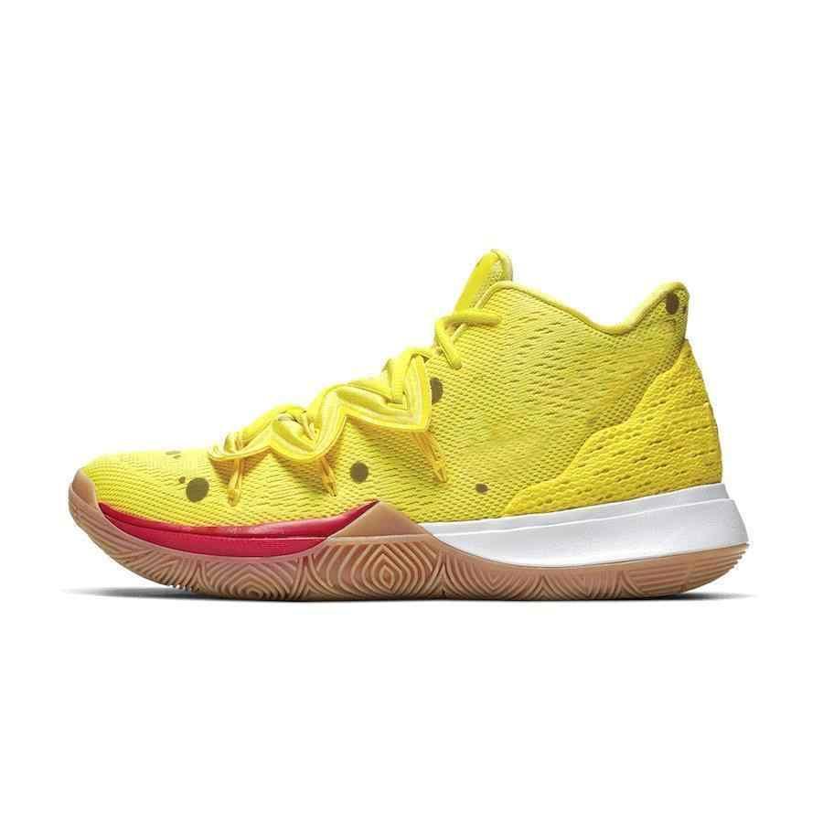 Móvil Debería entrar  Sponge Bob X Irving 5 zapatos de baloncesto para hombre zapatillas de 5S  Sr. Krabs Patricio calado arenoso mejillas estrella mujer Zapatillas  deportivas Kyri| | - AliExpress