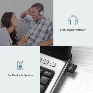 Image 5 - מיני USB מתאם USB Dongle אלחוטי USB Bluetooth משדר BT 5.0 מוסיקה מקלט Bluetooth מתאם עבור מחשב PC