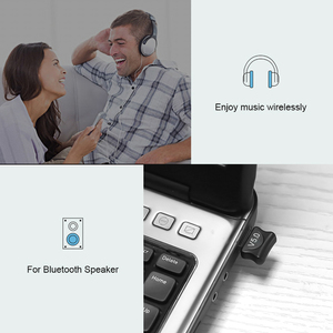 Image 5 - ミニ USB アダプタ USB ドングルワイヤレス USB Bluetooth トランスミッタ BT 5.0 音楽受信機の Bluetooth アダプタコンピュータ PC