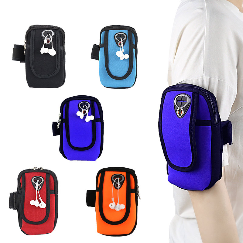 Running Mobile Phone Armstrap Mobile Phone Bag Mobile Phone Sports Armband Mobile Phone Bag Wrist Wrap Handbag Arm Universal Arm