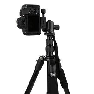 Image 4 - Zomei Q222/Q555/Q666/Q666Cプロのカメラの三脚旅行ポータブル調節可能な三脚キヤノンミラー/デジタルカメラ