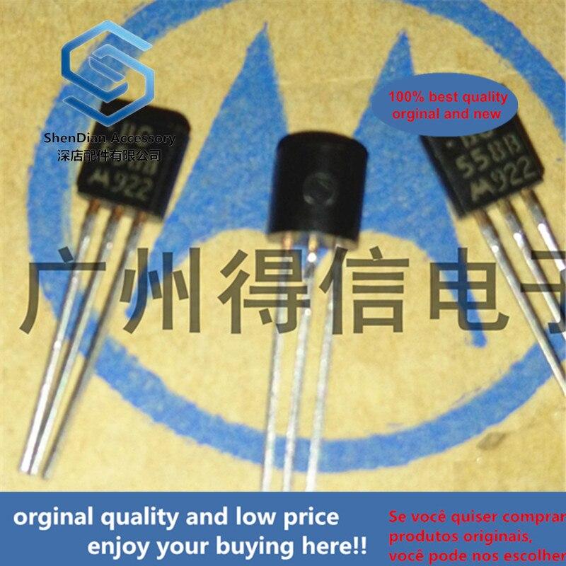 30pcs 100% Orginal New BC558B 558 TO-92 Amplifier Transistors(PNP Silicon)  Real Photo