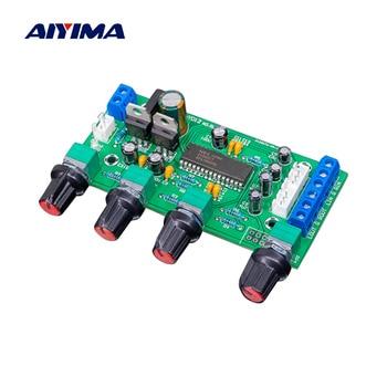 AIYIMA UPC1892 Tone Control Amplifier Preamp Board Hifi Preamplifier Volume Tone DIY Sound Speaker Amplifier Home Theater ne5532 op amp hifi amplifier volume tone eq control board preamplifier diy kits