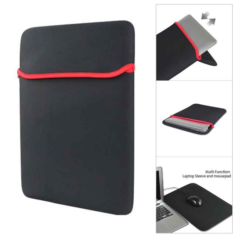 7 do 17 cali wodoodporny Laptop Notebook pokrowiec na tablet torba futerał do przenoszenia pokrowiec pokrowiec rękaw pokrowca na laptopa 11 13 14 15 17 cali