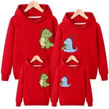 Pai mãe bebê roupas de natal para a família hoodies combinando roupas roupas mãe filha pai filho manga longa camiseta