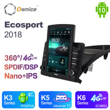 Ownice Android 10.0 Auto Radio 2 Din Untuk Ford Ecosport 2018 Mobil Radio Auto GPS Peta Navigasi Wifi Multimedia Video DSP 4G LTE(China)