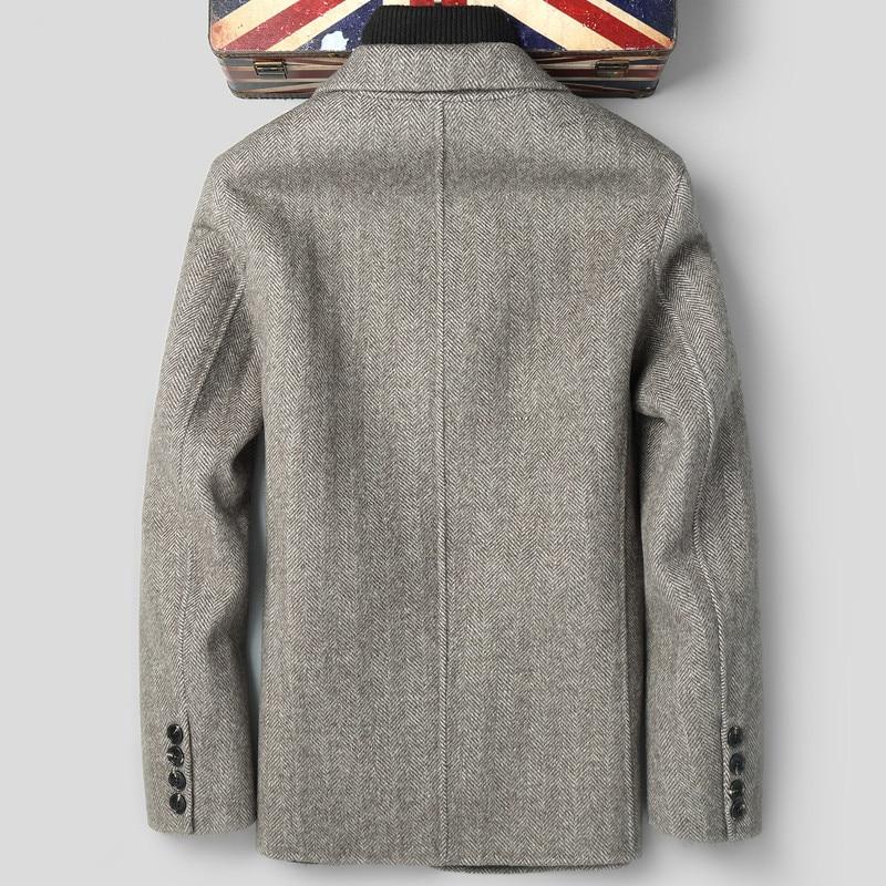 2020 Wool Coat Men Double-sided Autumn Jacket Mens Overcoat Coats And Jackets Blazer Abrigo Hombre LSY088197 KJ2250