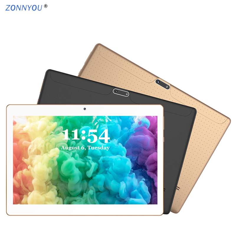 10/1 inches Tablet PC Android 8.0 3G/4G Phone Call Octa-Core 4GB Ram 64GB Rom Built-in 3G Bluetooth Wi-Fi GPS Tablet PC 10.6