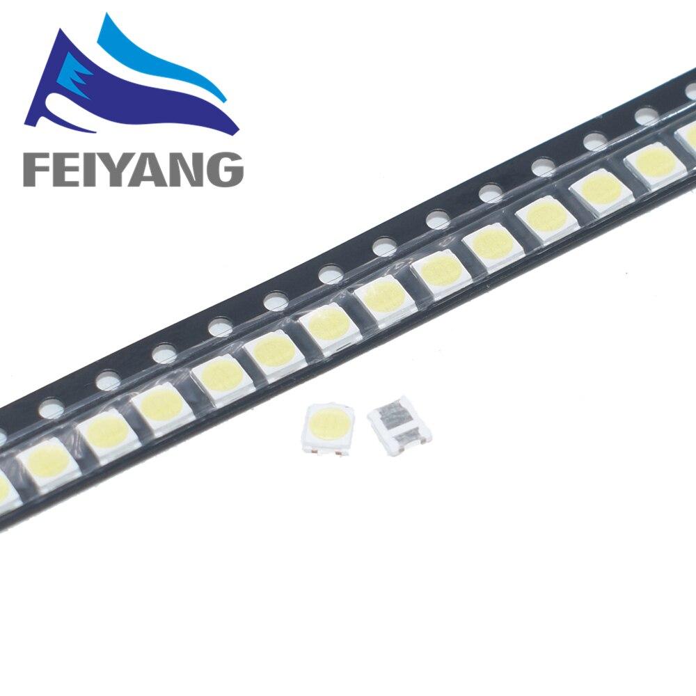 100PCS LED FOR SAMSUNG TV Application High Power LED LED Backlight TT321A 1.5W 3V 3228 2828 Cool white LED LCD TV Backlight