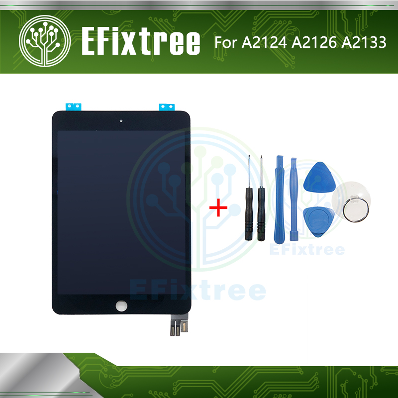 New Display Touch Screen Assembly Replacement For IPad Mini 5 Gen Min5 5th 5 A2124 A2126  A2133 LCD Panel Digitizer Black White