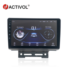 HACTIVOL 2 din android 8.1 car radio multimedia auto products for Geely Emgrand EC7 2014-2016 Car DVD gps Player GPS navigation hactivol 2 din car radio face plate frame for hyundai verna 2017 car dvd player gps navigation panel dash mount kit car products