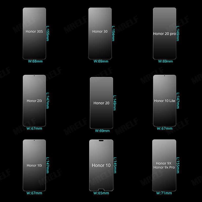 ป้องกันHonor 10 Lite 20 Pro 30 9xสำหรับHuawei Honor 10i 20i 30S 9xหน้าจอป้องกันhonor 20 Pro 10 Lite 30แก้ว