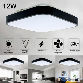 Square Modern LED Ceiling Lights for bedroom bedside Aisle corridor balcony Entrance Modern LED Ceiling Lamp For Home lighting цена 2017