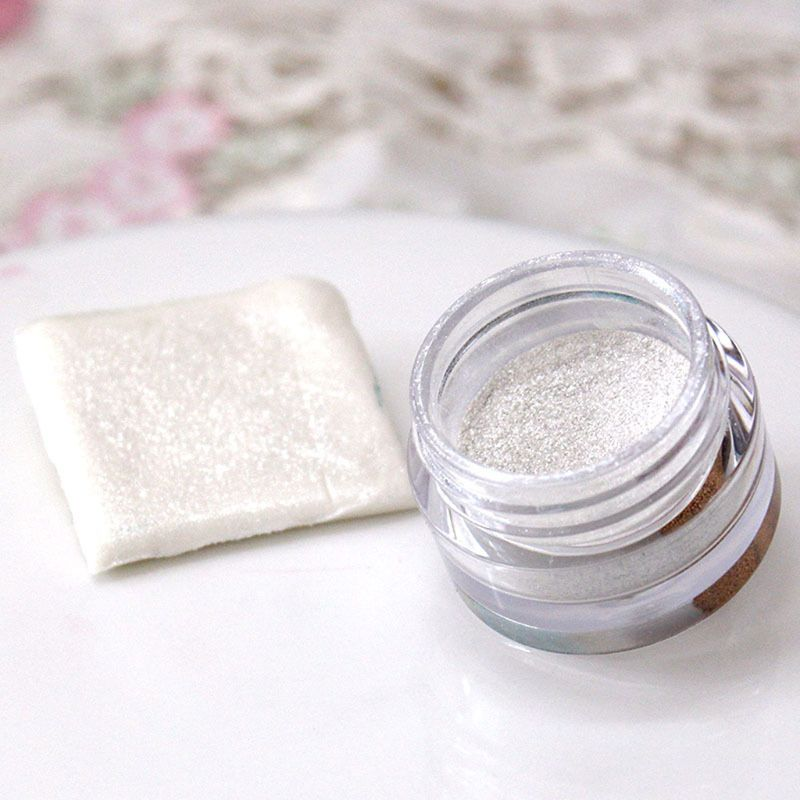 5g Silver Flash Glitter Powder Baked Edible Pigments Decorating Food Cake Biscuit Cake DIY Pigment