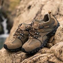 Autumn Outdoor Sports Hiking Shoes for Men Camping For Summer Trekking Man Sandals zapatillas trekking hombre