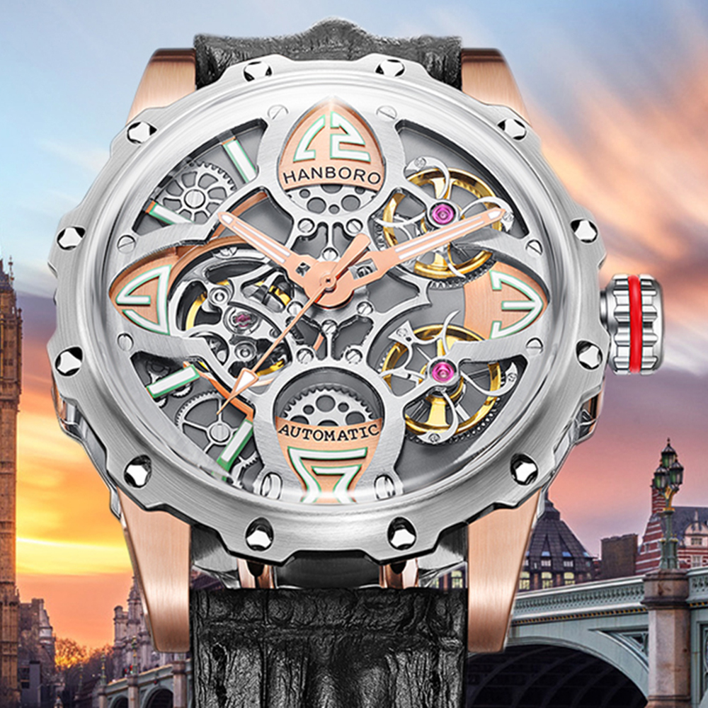 Automatic Mechanical Watch Mens Watches Top Brand Luxury Stainless Steel Sapphire Crystal Designer Watch Reojes De Hombre 2020