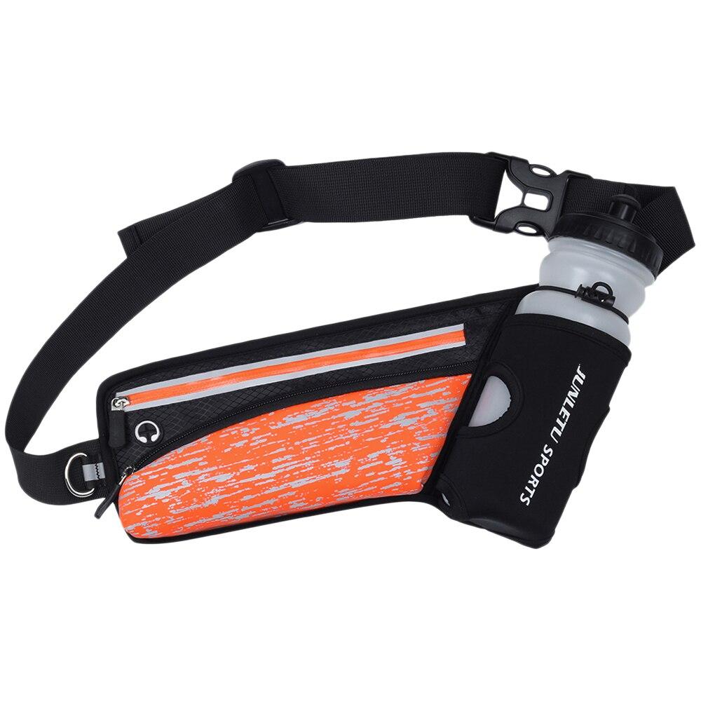 Reflective Running Belt Outdoor Sports Hydration Waist Pack Water Bottle Holder For Men Women Fanny Bag Pouch Hiking Jogging