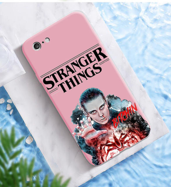STRANGER THINGS THEMED IPHONE CASE (17 VARIAN)