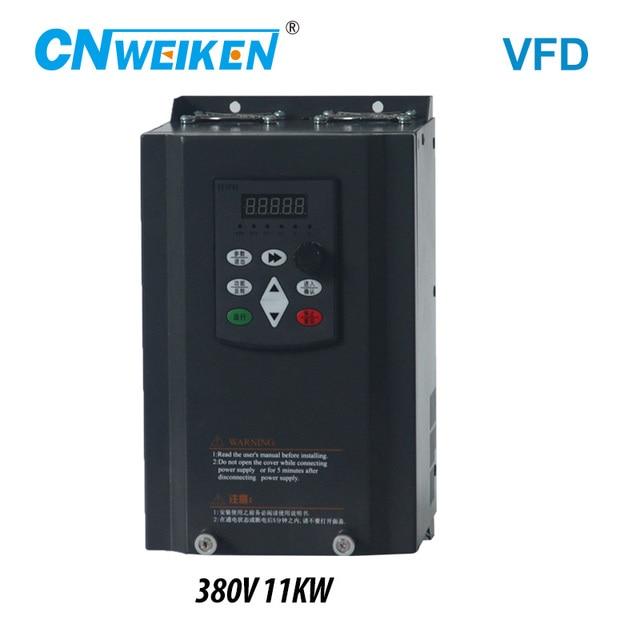 Chuyển Đổi Tần Số Cho Xe Máy 380V 11KW 3 Pha Đầu Vào Và 3 Đầu Ra 50Hz/60Hz AC Ổ VFD Vector Điều Khiển
