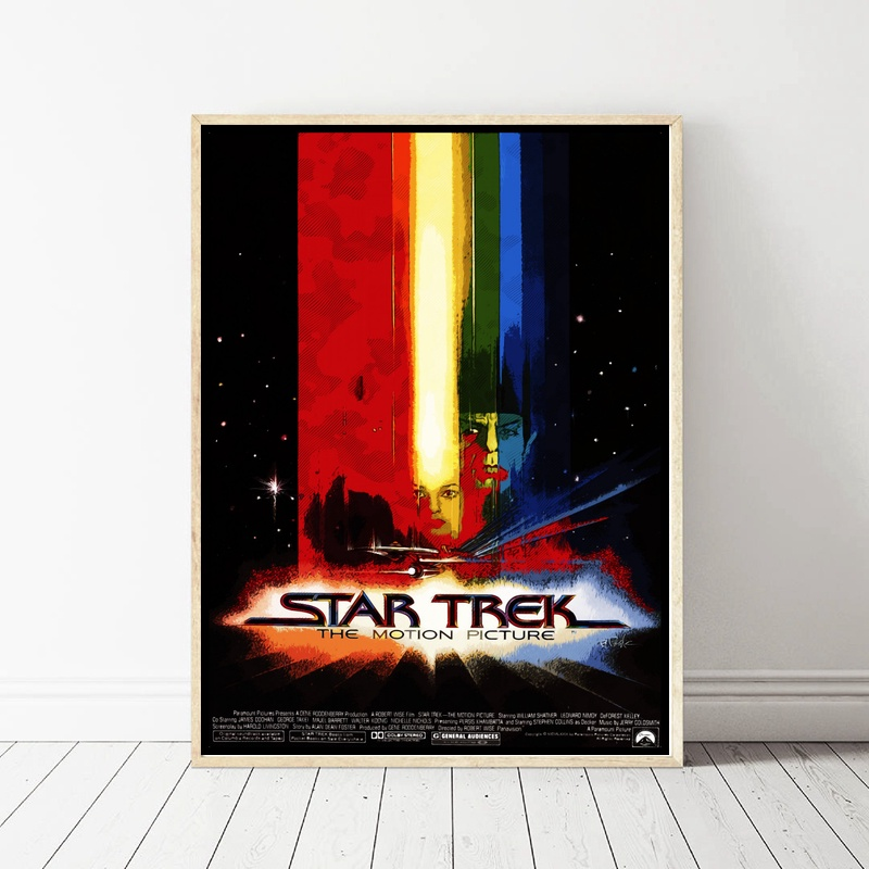 Star Trek Art Art Poster Canvas Painting Home Decor image