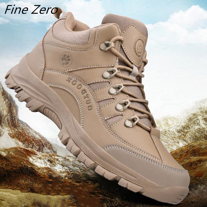 New Winter Autumn Men Military Boots Quality Special Force Tactical Desert Combat Ankle Boats Army Work Shoes Outdoor Sneakers