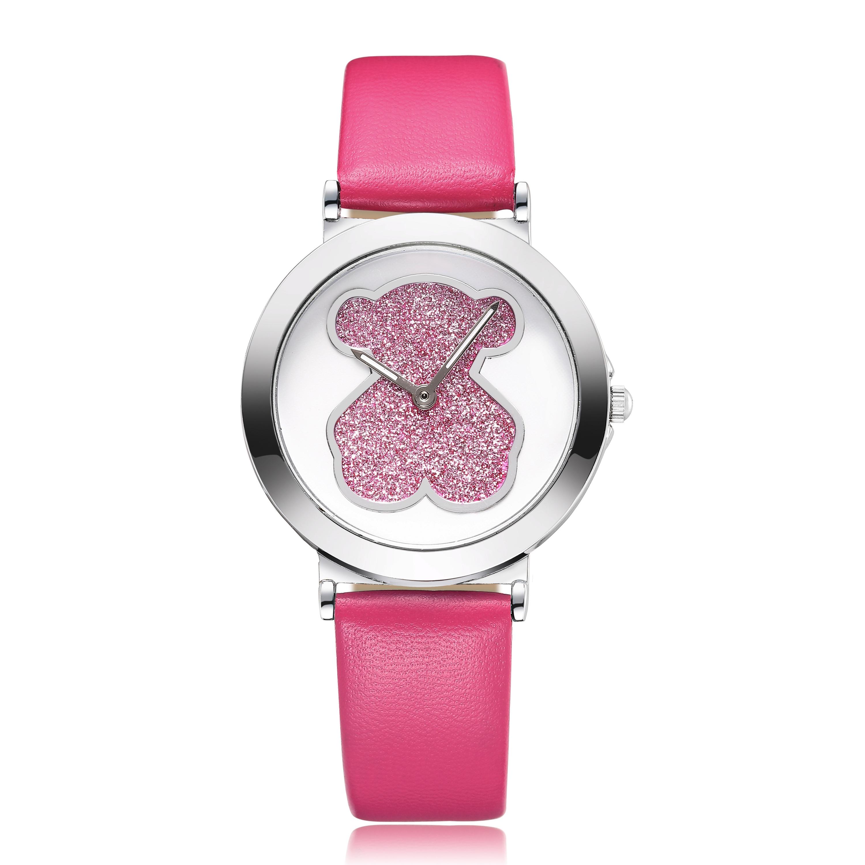 Relojes Mujer 2019 Luxury Casual Brand Bear Quartz Leather Watches Fashion Sports Men Women Watches Relogio Feminino Gift