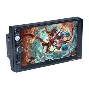"""Image 5 - Podofo autorradio 2 Din con reproductor MP5 y pantalla táctil de 7 """", Android 8,1, Bluetooth, MirrorLink, para Nissan, Toyota, Hyundai"""