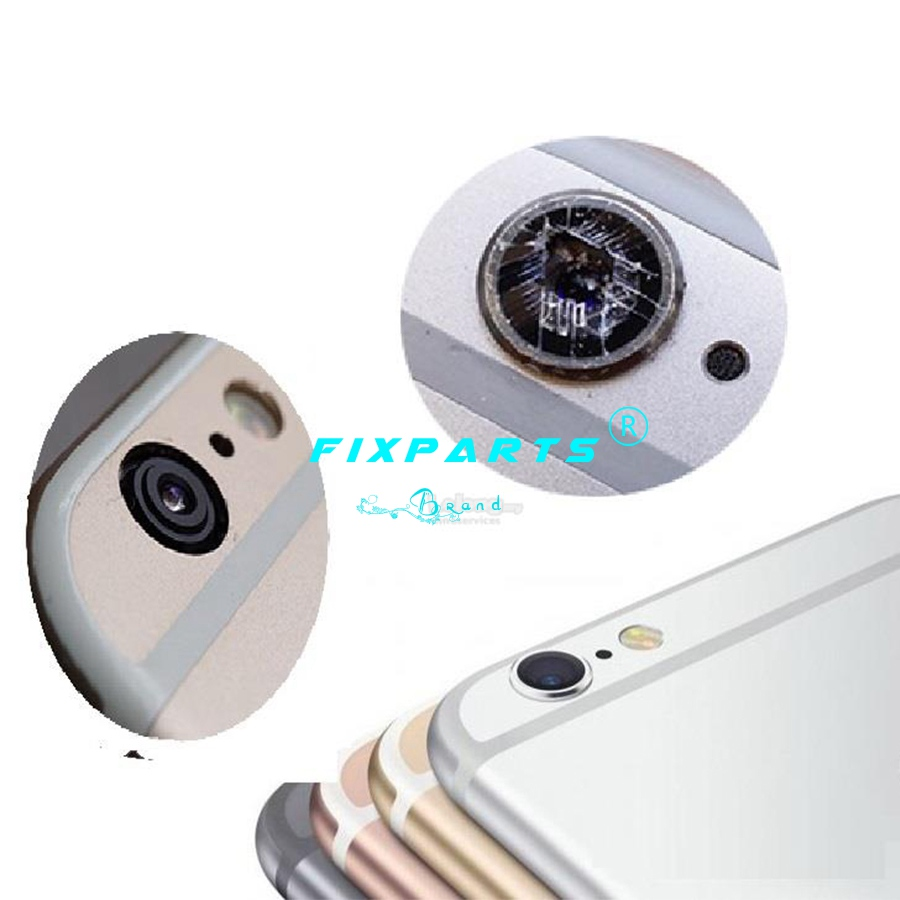 iPhone 11 pro max X XS Max XR 8 7 6s 6 plus New Glass Camera Lens with Tape Replacement