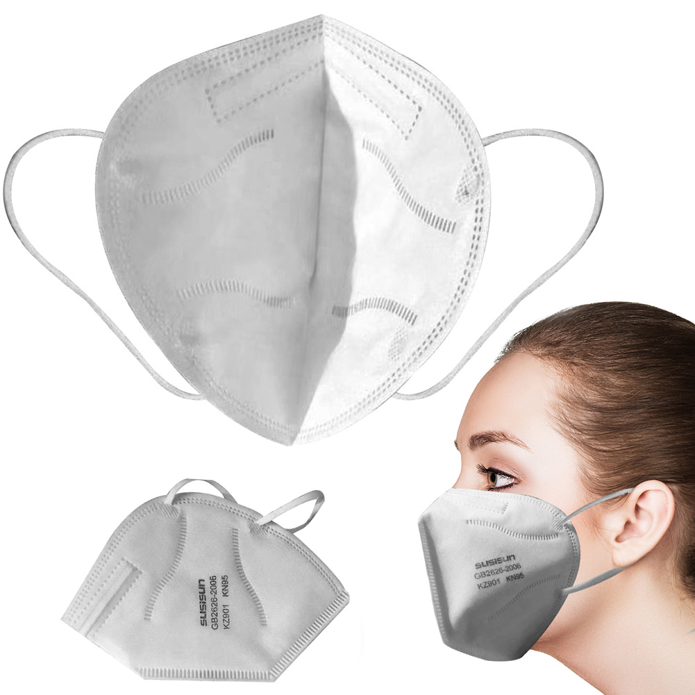 Pm2.5 KN95 Dust Mask Fine Air Filter Wholesale Anti Odor Smog Custom Cotton Pollen Dust Mouth Face Mask
