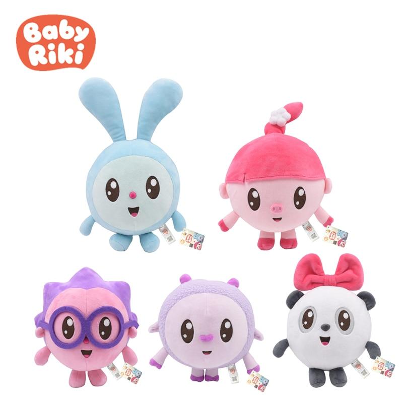 5pcs//lot Cartoon Malyshariki Smeshariki Stuffed Toy Cute Hedgehog Kikoriki Nyush