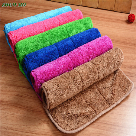 Car wash Home Kitchen Washing Clean Wash Cloth Absorbent Thicken Velvet Towel