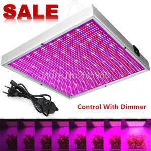 Image 1 - 2000LED Grow Light With Dimmer AC85~265V Indoor Greenhouse Tent Hydroponic Aquarium 200W Full Spectrum Adjustable Led Grow Lamp