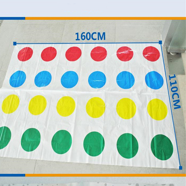 Hot Funny Twist Game Board Game Sports Friend Party Funny for Family Adults Kids Bag Plastic