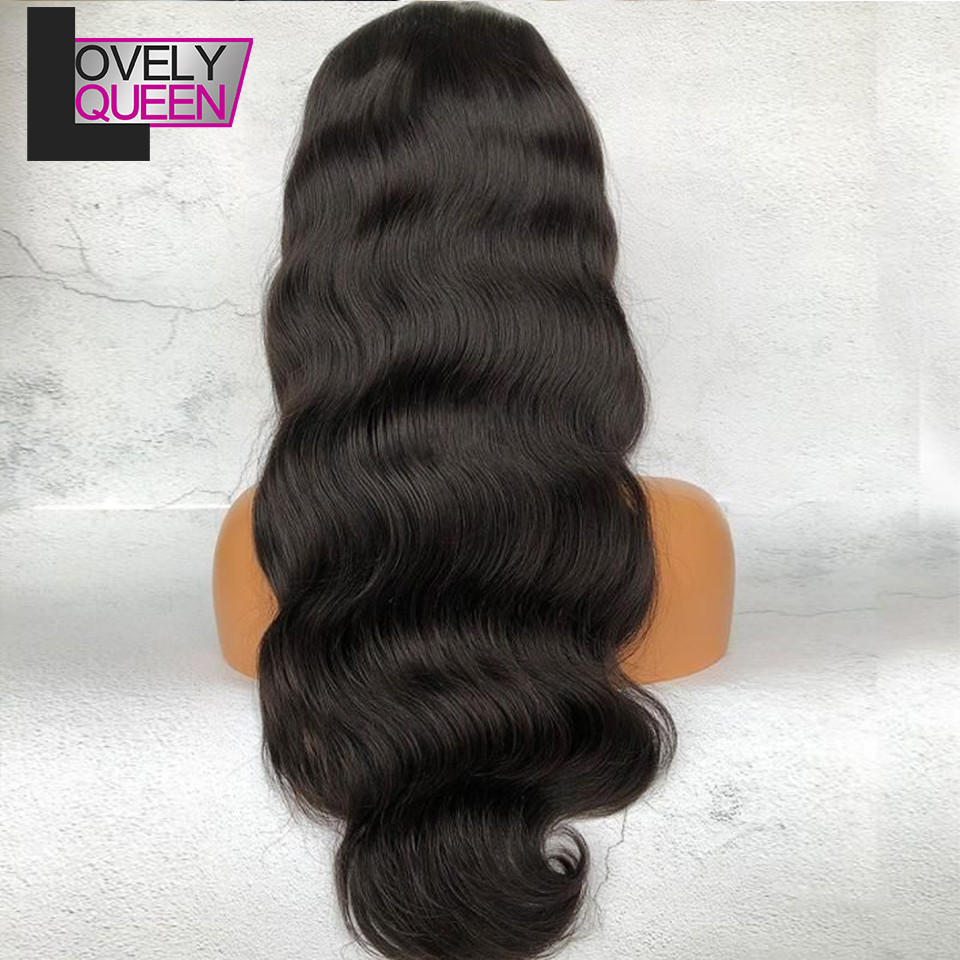 13x4 Lace Front Human Hair Wigs Body Wave Brazilian Remy Hair Affordable Wig With Baby Hair 150 Density Lace Front Wig